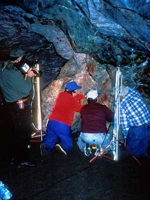 Pictograph Cave 2000 Recording