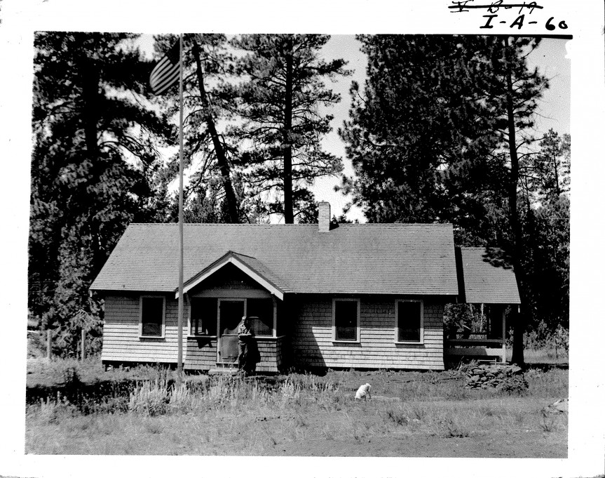 Cold_springs_guard_station_1935 by USDA Forest Service
