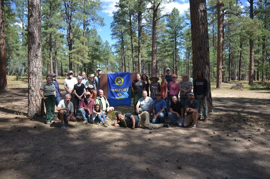 Pit_project_group_photo.jpg by Sara Stauffer, US Forest Service